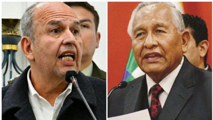 Después de la censura, Añez cesa a Murillo y Cárdenas como ministros
