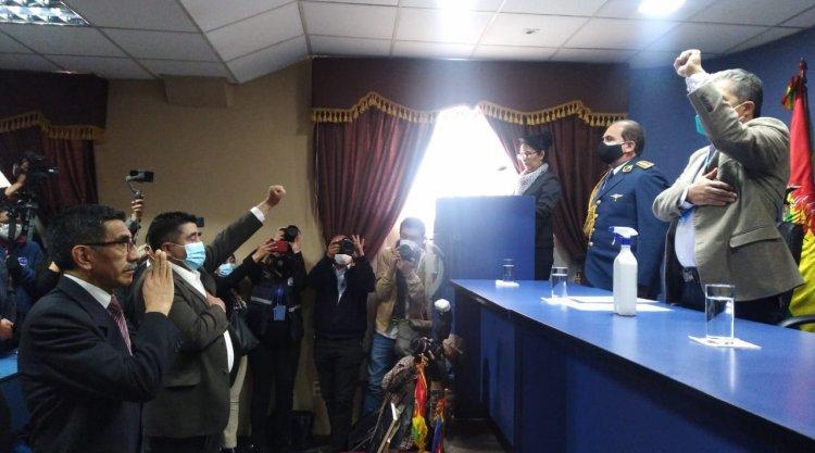 Rodríguez retorna al Viceministerio de Lucha Contra el Contrabando