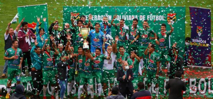 Real Tomayapo, campeón de la Copa Simón Bolívar 2020