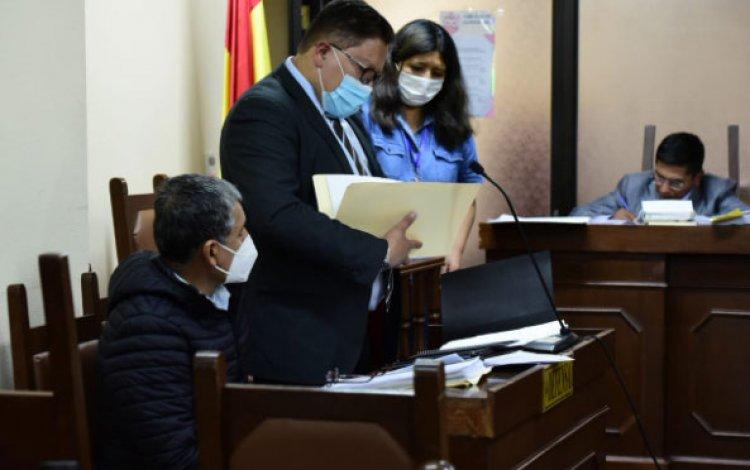 A horas de haber llegado a Bolivia, la Justicia envía a la cárcel al exgeneral René Sanabria