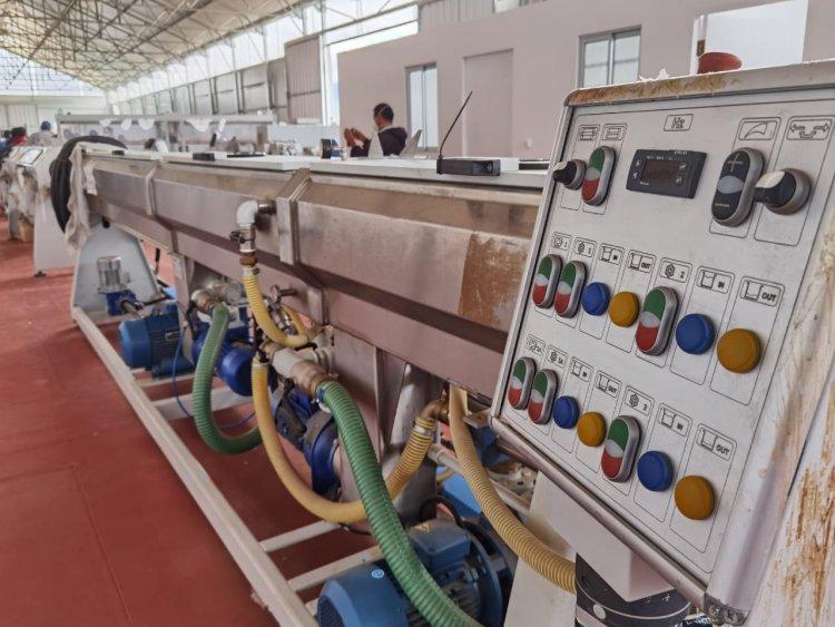 La Fábrica de Tubos de Calamuchita entro en la recta final para su conclusión