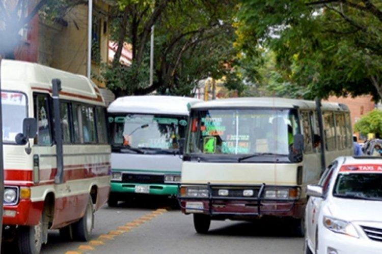 Transportistas en Tarija realizan compromisos para evitar encapsulamiento