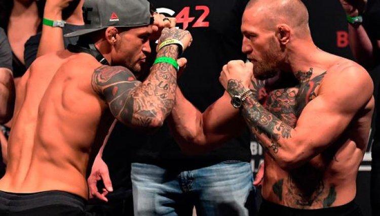 IMPACTANTE DERROTA POR NOCAUT DE CONOR MCGREGOR ANTE DUSTIN POIRIER EN UFC
