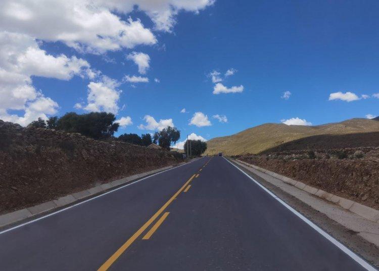 Oliva inauguró el tramo Chorcoya Méndez- Chorcoya Avilés