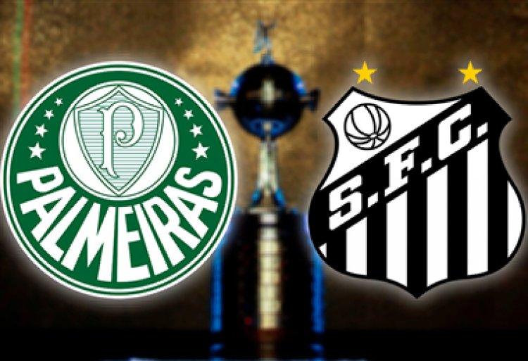 Palmeiras y Santos definen en el Maracaná la tercera final brasileña de la Libertadores