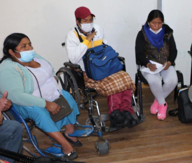 Personas con discapacidad podrán cobrar su bono mensual en sus lugares de residencia