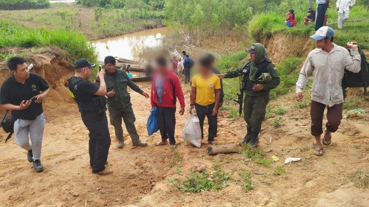 Dos indígenas fueron aprehendidos por quemar vivo a otro indígena