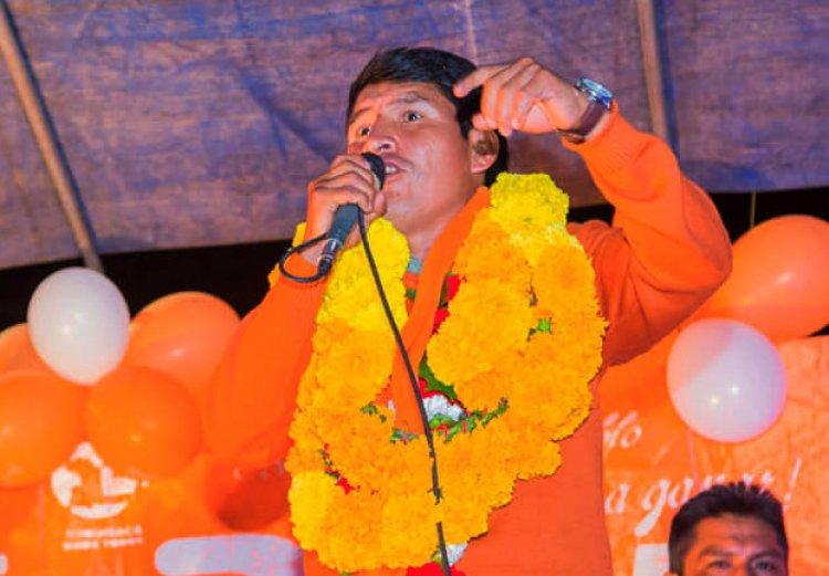 Concluye el cómputo de votos en Chuquisaca y Damián Condori es gobernador electo