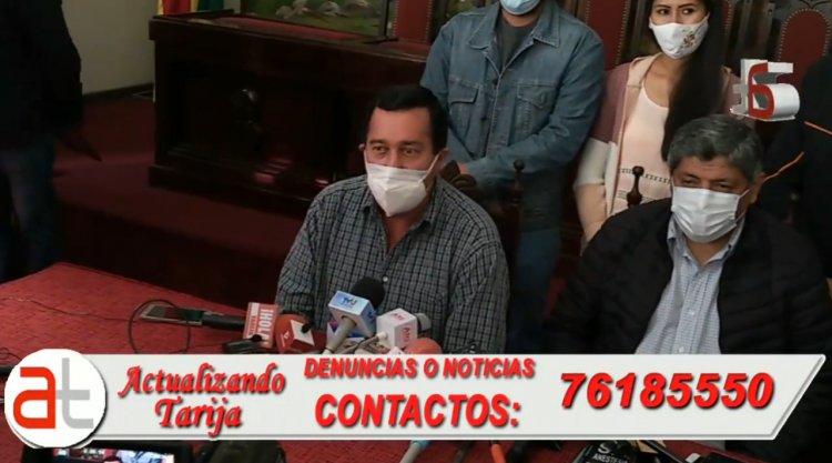 Informe final del Alcalde de Tarija Alfonzo Lema sobre su corta gestión