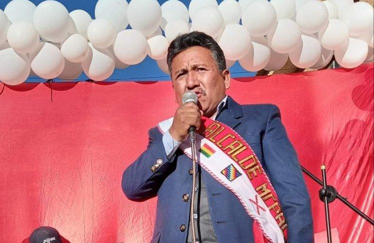 Juan Martínez Nuevo Alcalde de Villa Charcas anunció cambios importantes