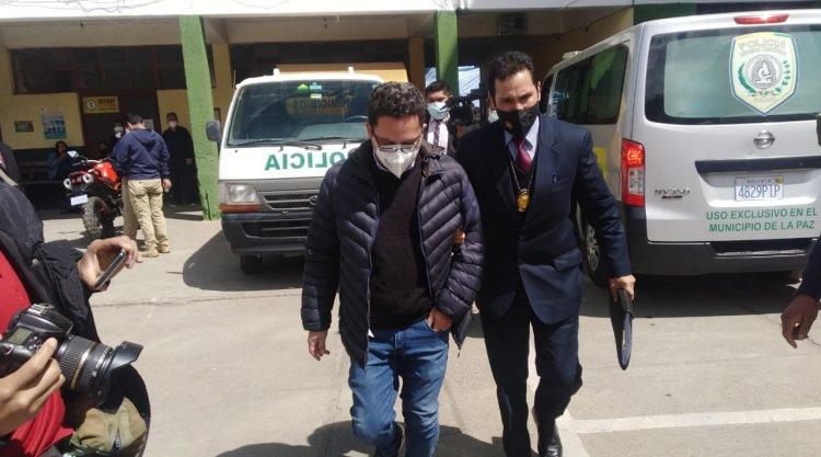 Eddy Luis Franco es aprehendido por el presunto desvío de $us 390.000 en Entel