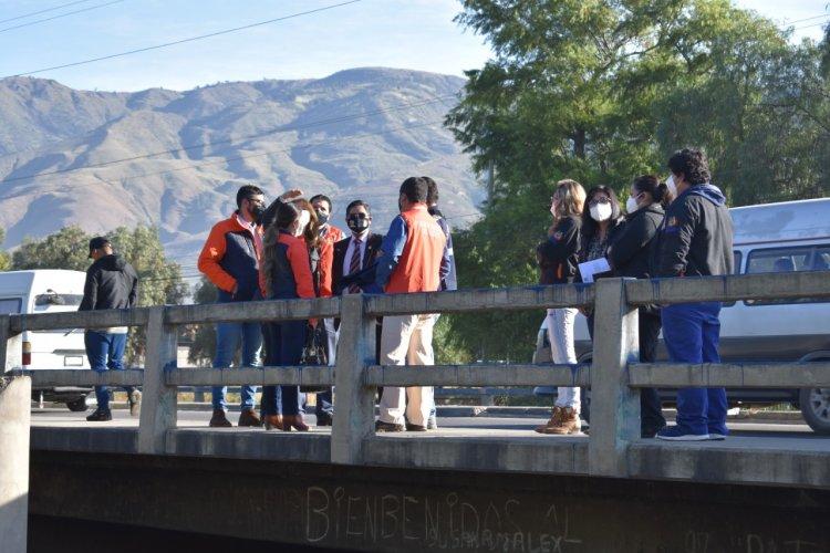 Fiscales y peritos del IDIF realizan inspección ocular y reconstrucción balística en Sacaba