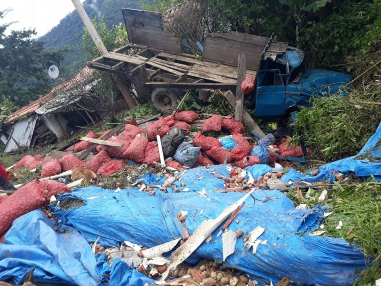 Accidente de Tránsito en Nogalito Tarija
