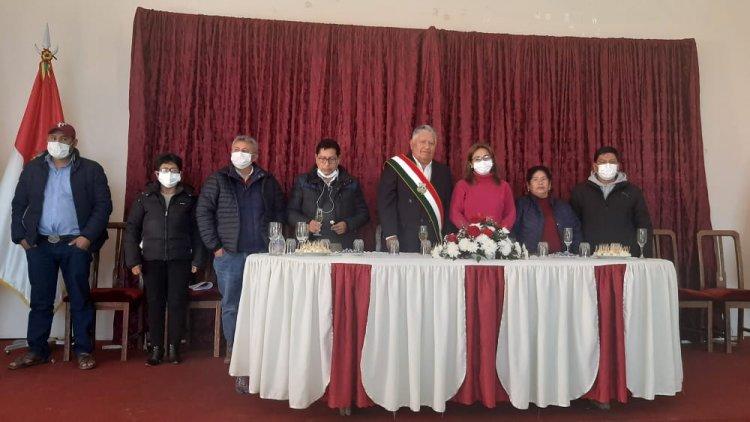 Eloy Moreno fue presentado oficialmente como Subgobernador de Padcaya