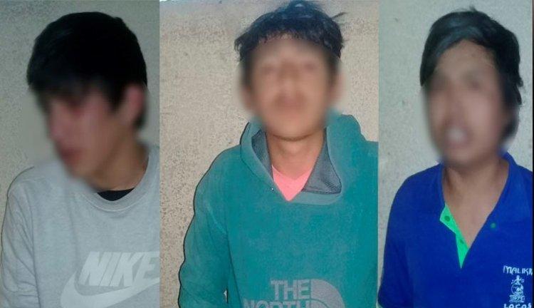 Presuntos motochorros fueron arrestados por la policía en Tarija