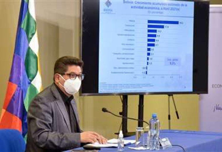 La economía boliviana crece un 5,3% al primer cuatrimestre, según el Gobierno