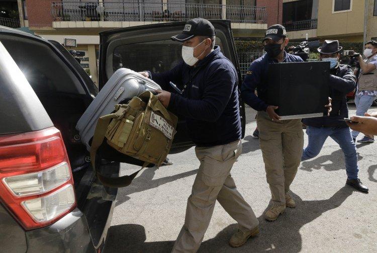 Hallan armas en casa de Murillo en Tiquipaya y 'relación bancaria' con Méndez