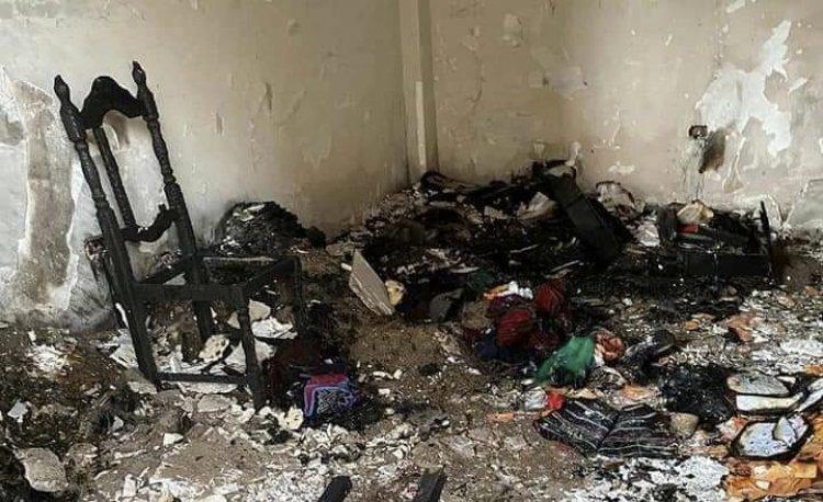 Del Castillo dice que el incendio en la casa de Condori no fue causado por mano humana