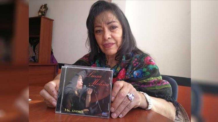 Fallece la reconocida cantante y fundadora del grupo Bolivia, Luisa Molina, por COVID-19