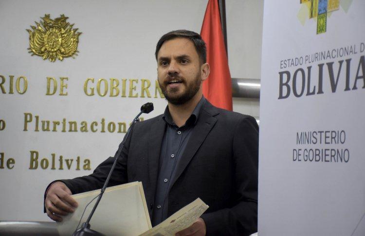 Legislativo interpelará el martes al Ministro de Gobierno por detención de Jeanine Áñez