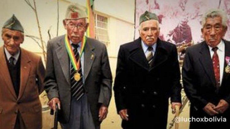 Autorizan pago de Bs 15.500 para cada uno de los cuatro excombatientes del Chaco que siguen vivos