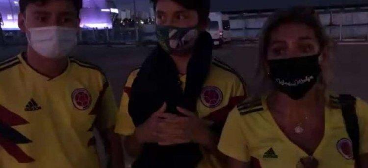 Familia Colombiana viajó a ver la Copa América a Brasil y se enteró que el torneo es sin público