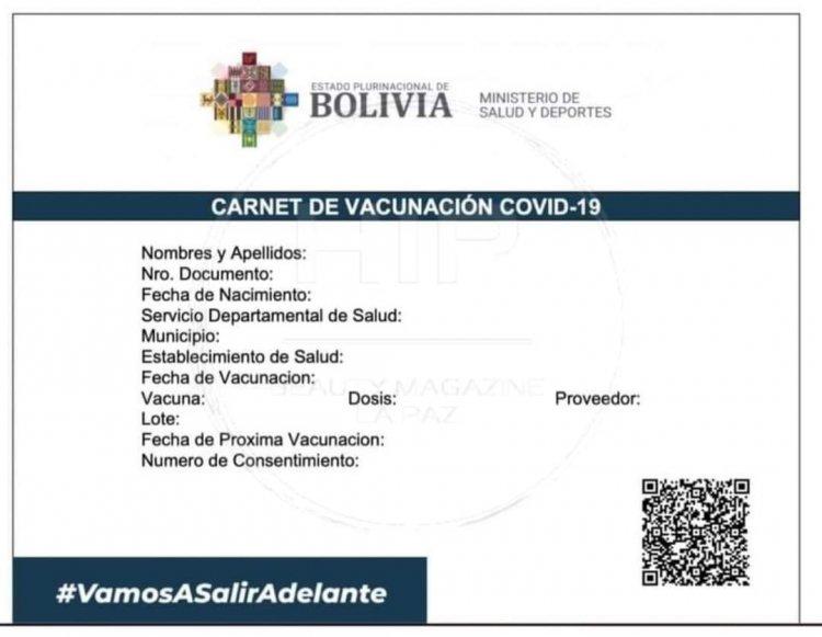 Conozca los tres pasos para recuperar el carnet de vacunación Covid-19