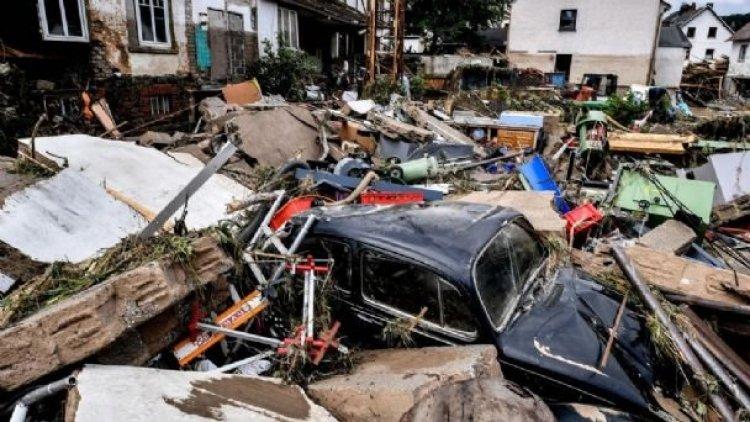 Sube a 42 cifra de muertos en devastadoras inundaciones del oeste de Alemania