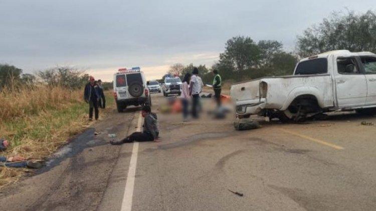 Cuatro personas mueren en un accidente de tránsito en Santa Cruz