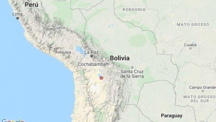 Dos sismos en un solo día fueron registrados en Oruro y Cochabamba