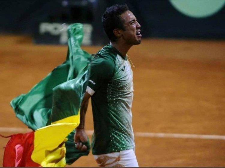 El comentario emotivo del tenista Boliviano en los Juegos Olímpicos.