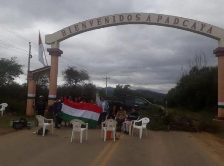 Padcaya bloqueará la ruta Tarija Bermejo desde 00 horas del martes