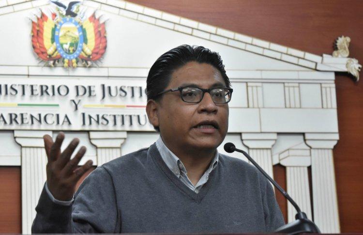 COMUNICADO DEL MINISTERIO DE JUSTICIA Y TRANSPARENCIA INSTITUCIONAL