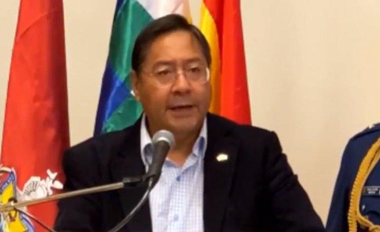 Arce anuncia que se trabajará directamente con las alcaldías en la lucha contra la pandemia