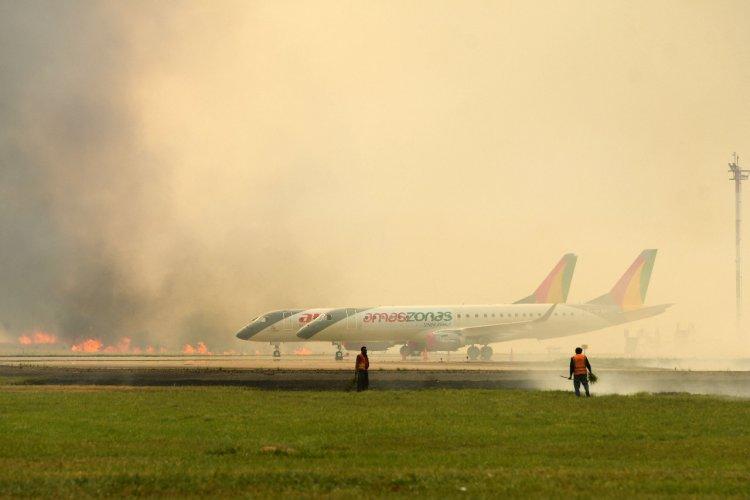 Incendio afectó a 1.700 hectáreas, dañó una turbina de BoA y obligó a derivar 25 vuelos