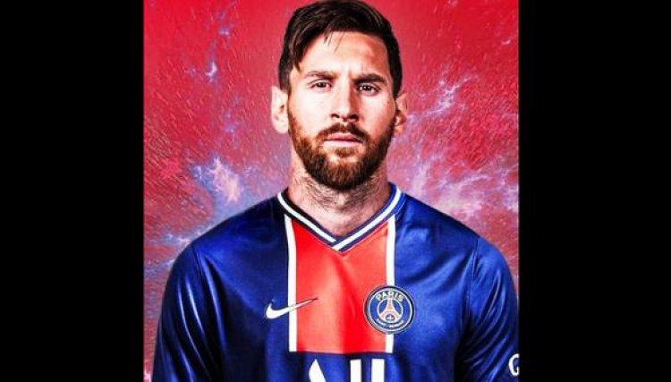 Confirman el fichaje de Lionel Messi por el PSG