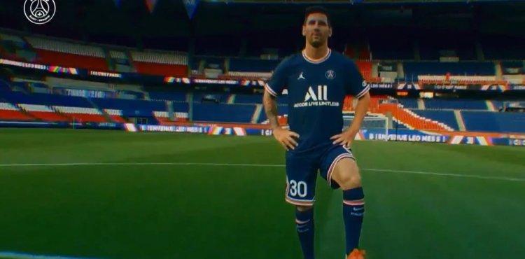 Imagen histórica: Messi con el PSG