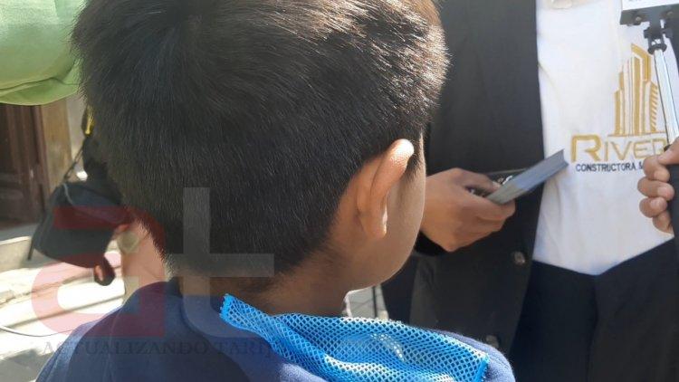 Un niño deambulaba en las calles de Tarija y mencionaba ser víctima de violencia