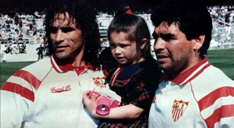 Las revelaciones de un ex compañero de Maradona en Sevilla: regalos costosos, el detective que lo perseguía y sus consejos sobre la droga