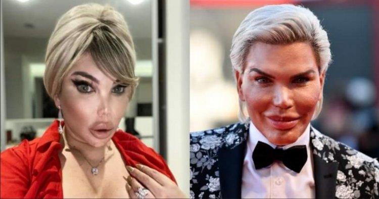 Rodrigo Alves ya no es más el 'ken humano' y ahora luce como una mujer transgénero