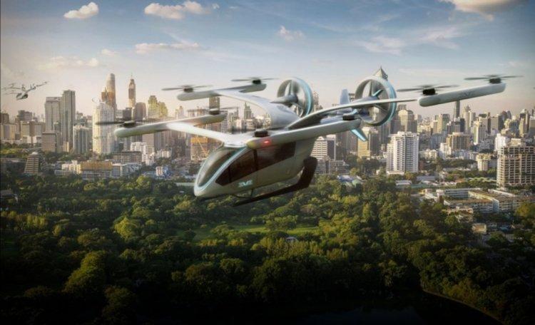 La NASA comenzó las pruebas de los prototipos de taxis aéreos
