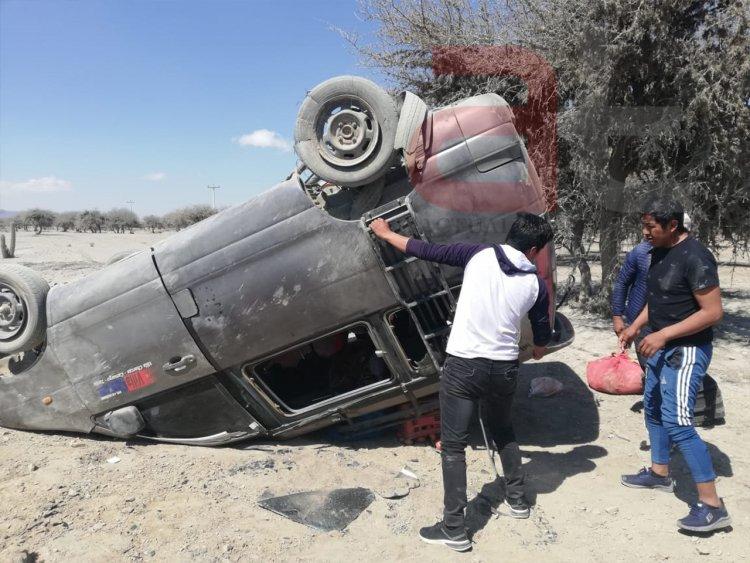 Accidente de tránsito en la pampa de Culpina – Chuquisaca