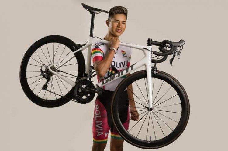 Bolivia participará por primera vez en el Mundial de Ruta con el ciclista Tarijeño Aramayo