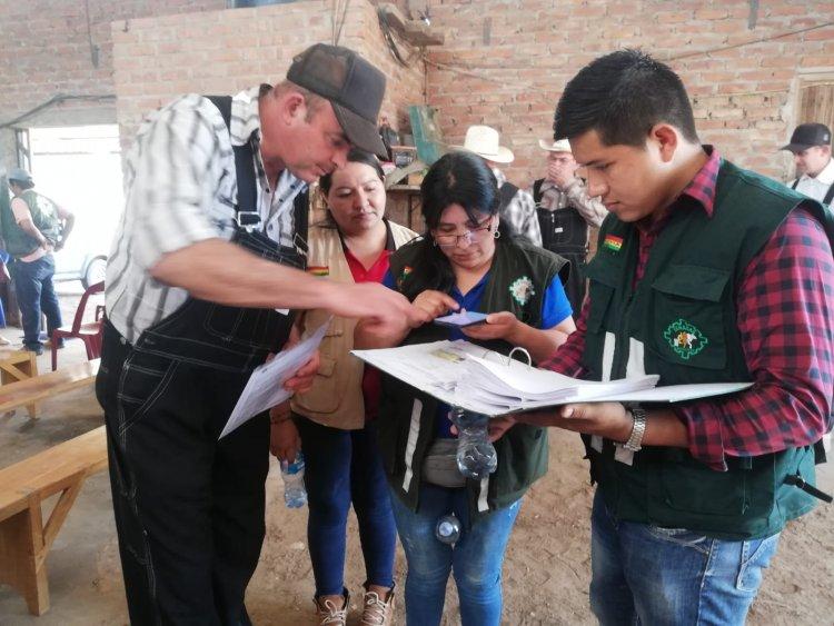 SENASAG certifica libre de brucelosis y tuberculosis a productores de leche en Tarija