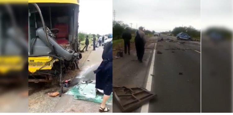 Cuatro fallecidos en accidente en la ruta a Camiri - Santa Cruz