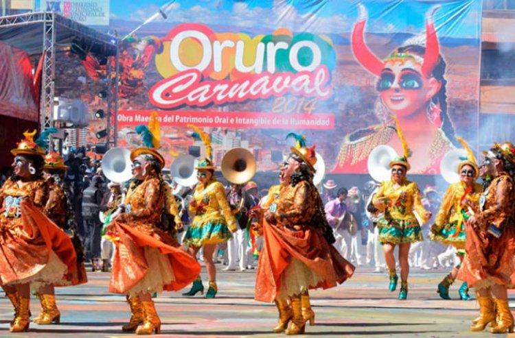 Oruro: vacunación debe llegar al 85% para dar luz verde al Carnaval 2022
