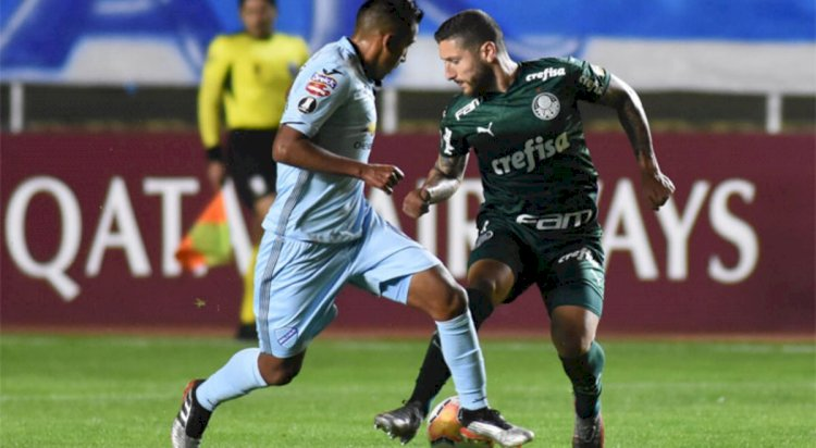 Bolívar no pudo con Palmeiras, perdió 1-2